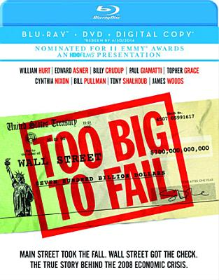 TOO BIG TO FAIL BY HURT,WILLIAM (Blu-Ray)
